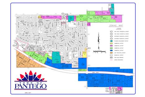 Pantego Zoning Map